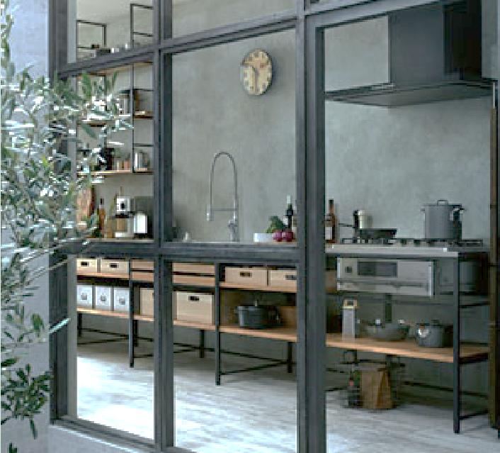 それぞれの部屋の壁や天井にワンポイントがあり、キッチンも個性的なフレームタイプですこれから建てられる方の参考になるのではないでしょうか